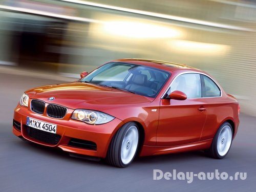 BMW 1-series coupe. Часть 1