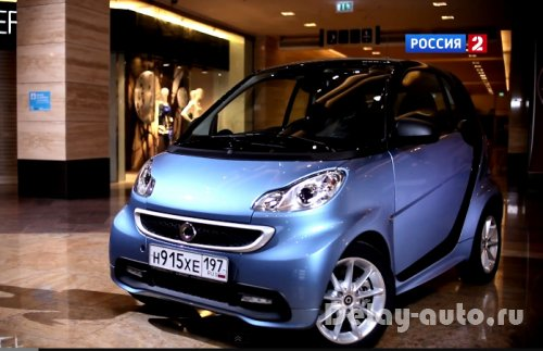 Smart Fortwo Coupe - часть 1