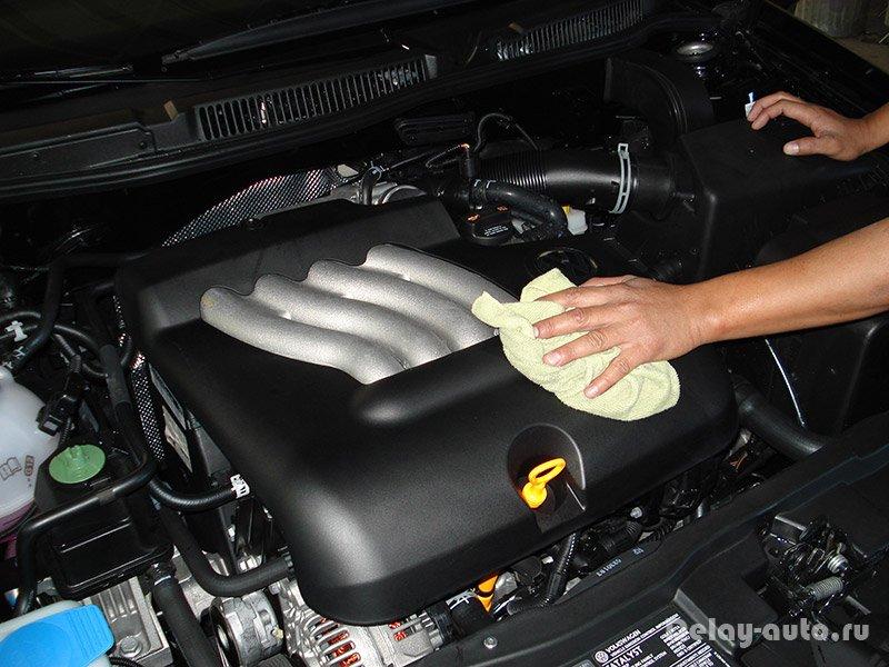 Моем двигатель своими руками фото