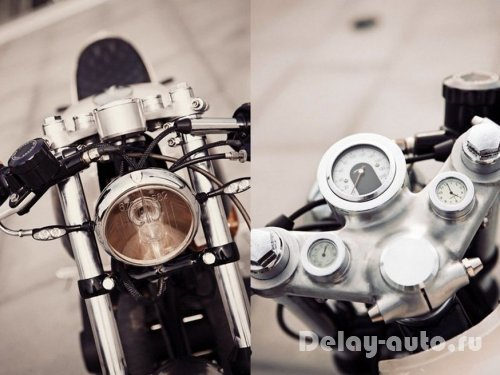 Honda CB500T от ателье Renard Speed Shop