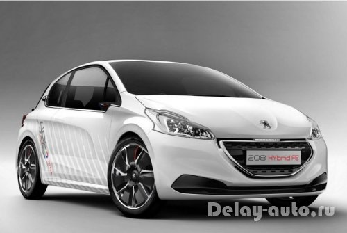 Peugeot 208 Hybrid FE рассекречен