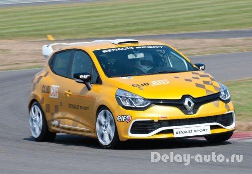Гоночная модификация Renault Clio Cup 2014 модельного года
