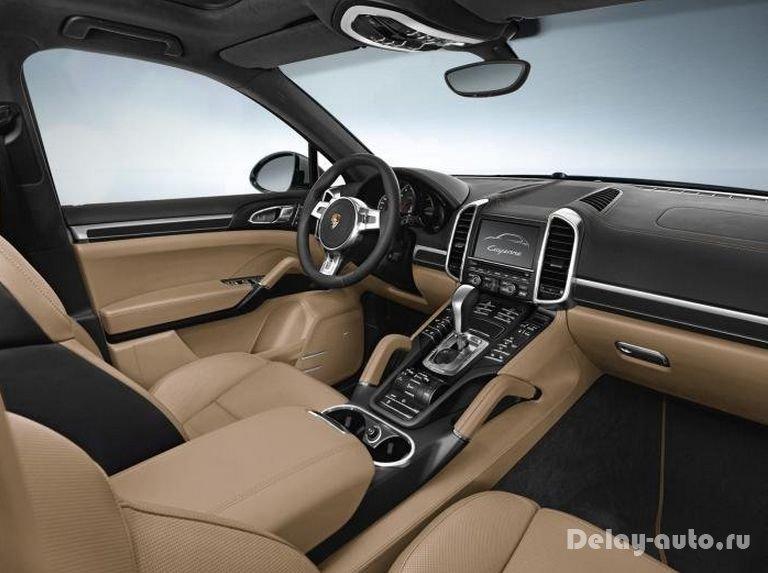 Porsche Cayenne получил версию Platinum Edition