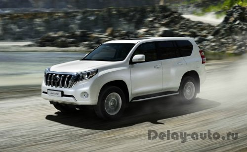 Toyota отзывает Land Cruiser Prado в России