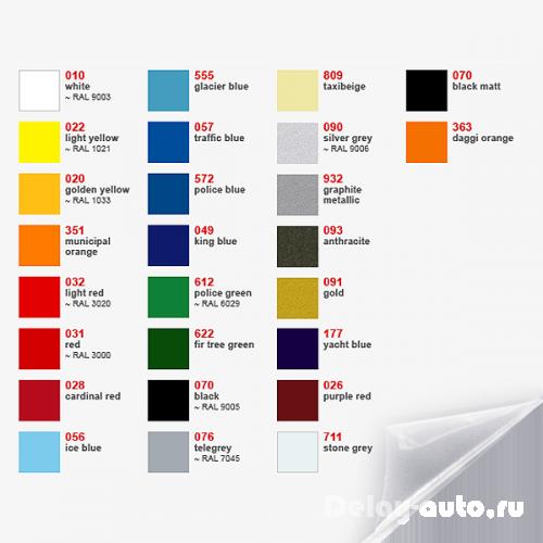 Как выбрать цвет автомобиля?