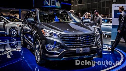 Hyundai santa fe 2015 рестайлинг